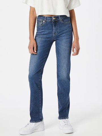 7 for all mankind Jeans 'THE STRAIGHT' in Blau