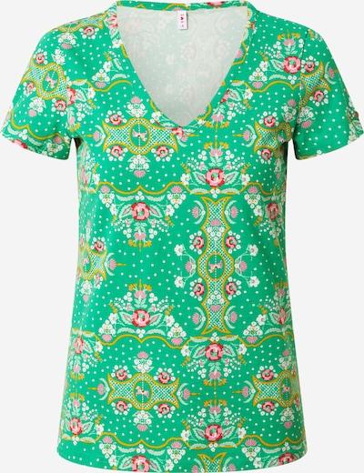 Blutsgeschwister T-Krekls 'Sunshine Camp', krāsa - zaļš / jauktu krāsu, Preces skats