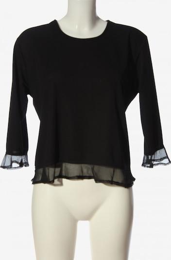 Crazy World Rüschen-Bluse in XL in schwarz, Produktansicht