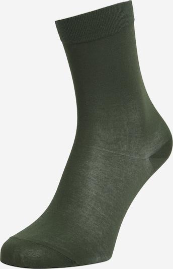 FALKE Socken in dunkelgrün, Produktansicht