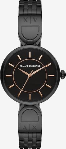 ARMANI EXCHANGE Analog Watch in Black