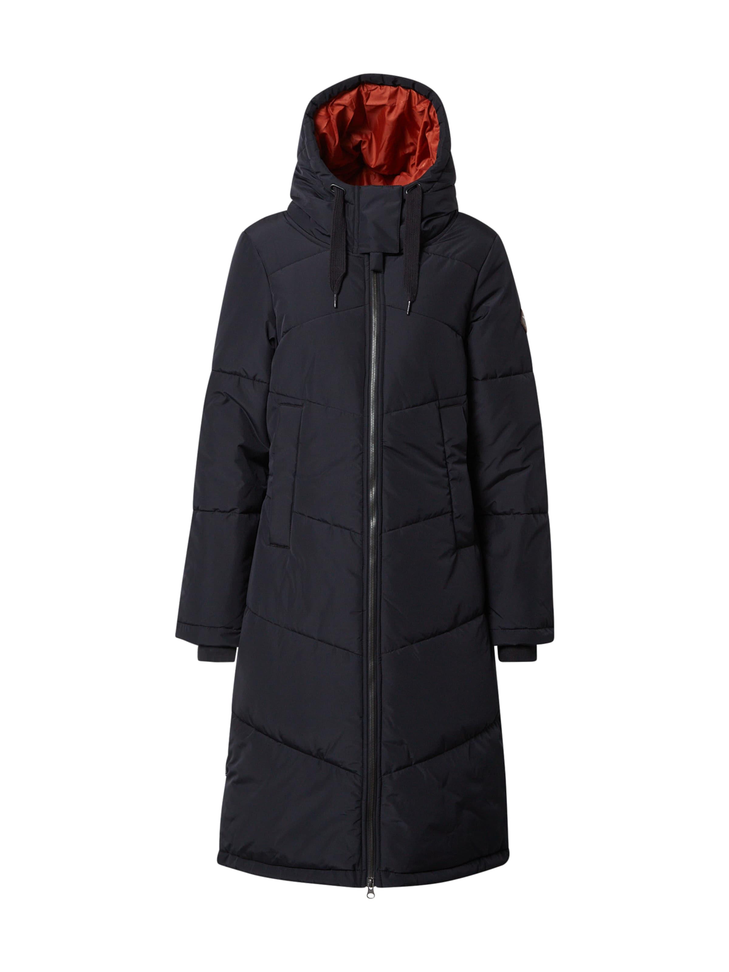 Iriedaily Vinterkappa i svart