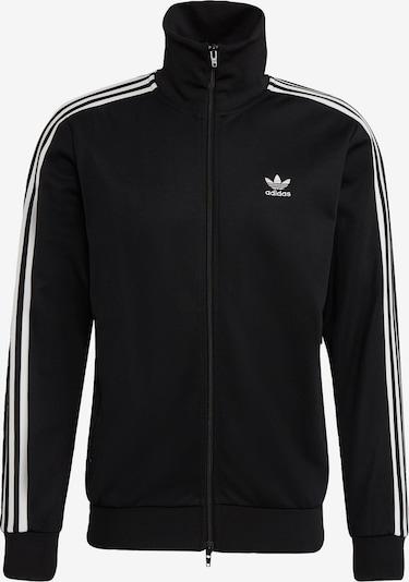 ADIDAS ORIGINALS Jacke 'Beckenbauer' in schwarz / weiß, Produktansicht