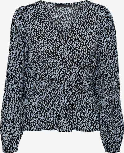 Vero Moda Tall Bluse 'Tania' in hellblau / schwarz, Produktansicht