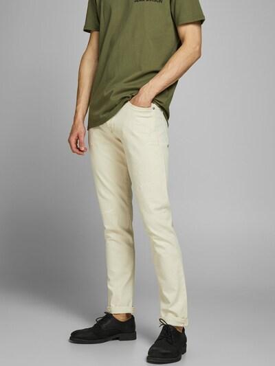 JACK & JONES Jeans in beige, Modelansicht