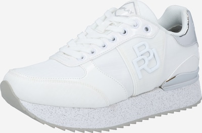 REPLAY Sneakers low 'RAEFORD' in Silver / White, Item view