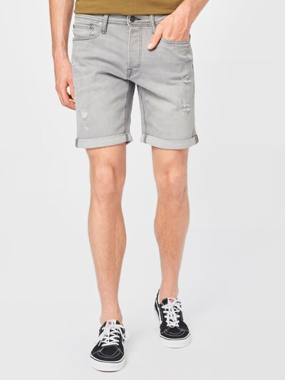 JACK & JONES Jeans 'RICK' i grey denim, Modelvisning
