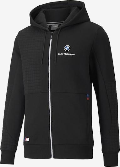 PUMA Sportsweatvest 'BMW Motorsport' in de kleur Blauw / Rood / Zwart / Wit, Productweergave