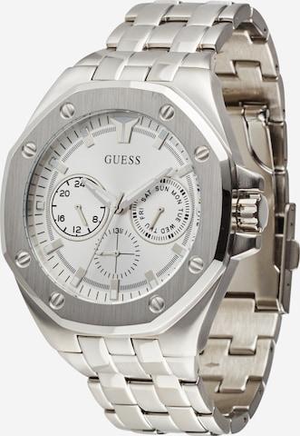 GUESS Zegarek analogowy w kolorze srebrny