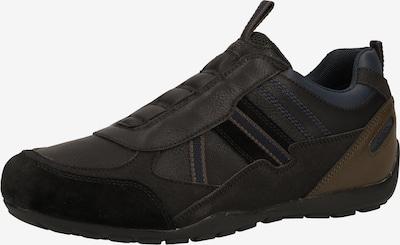 GEOX Sneaker in braun / anthrazit / schwarz, Produktansicht