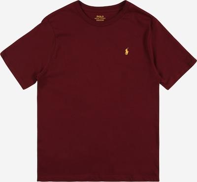 POLO RALPH LAUREN Majica | vinsko rdeča barva, Prikaz izdelka