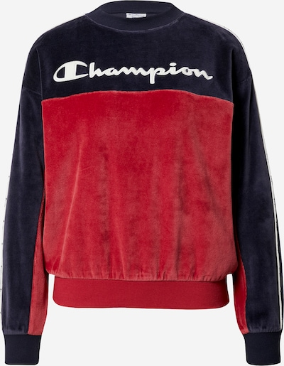 Champion Authentic Athletic Apparel Sweatshirt in navy / rot, Produktansicht