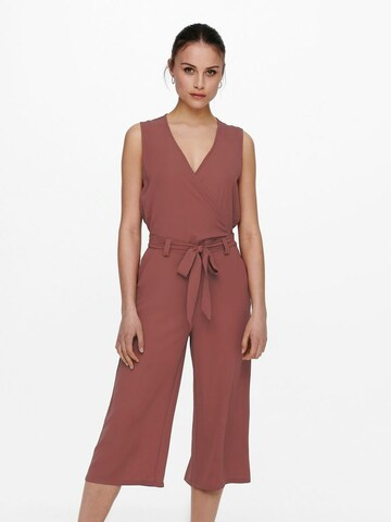 ONLY Culotte Jumpsuit in Rot