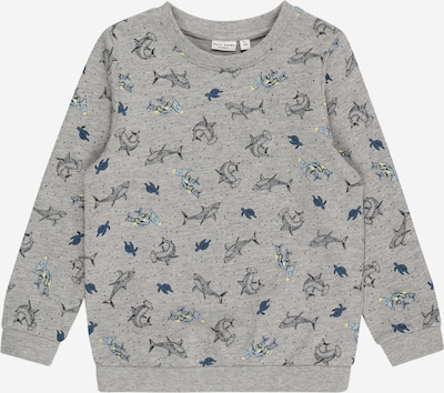 NAME IT Sweatshirt 'VILDAR' in navy / hellblau / gelb / grau / rauchgrau, Produktansicht