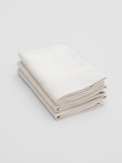 Erlich Textil Handdoek ' 3er-Pack Bente ' in de kleur Sand, Productweergave
