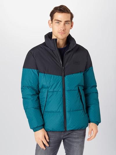 Žieminė striukė iš EDC BY ESPRIT , spalva - tamsiai mėlyna jūros spalva / nefrito spalva, Modelio vaizdas