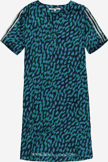 GARCIA Kleid in blau / navy / grün / silber, Produktansicht