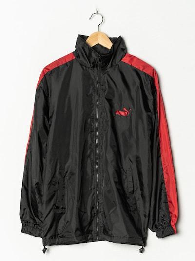 PUMA Regenmantel in M/L in schwarz, Produktansicht