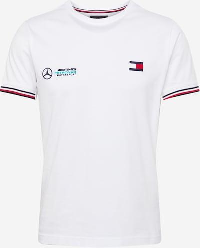 Tommy Hilfiger Tailored Majica u tirkiz / tamno plava / lubenica roza / prljavo bijela, Pregled proizvoda