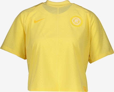NIKE T-Shirt in gelb, Produktansicht