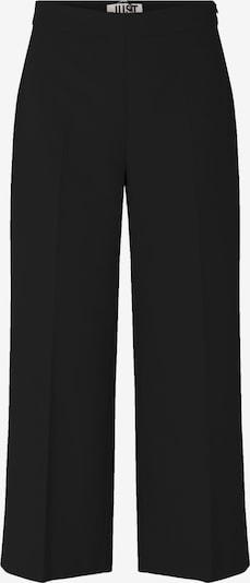 JUST FEMALE Pleated Pants 'Watson' in Black, Item view