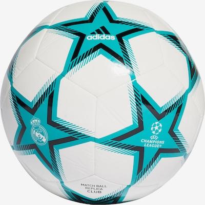 ADIDAS PERFORMANCE Ball in blau / schwarz / weiß, Produktansicht