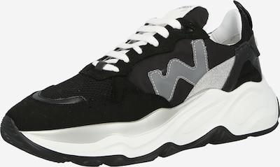 WOMSH Zemie brīvā laika apavi, krāsa - pelēks / melns, Preces skats
