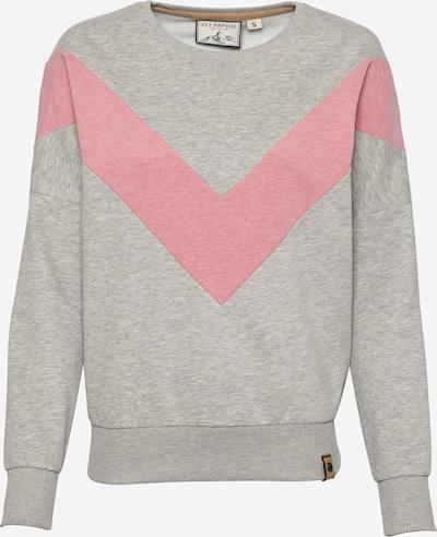 Fli Papigu Sweat-shirt 'Handyvertrag anderer Name' en gris chiné, Vue avec produit