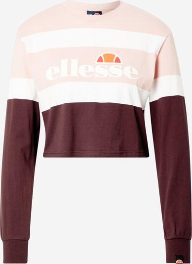 ELLESSE Skjorte 'Vernes' i lyserød / hvid, Produktvisning