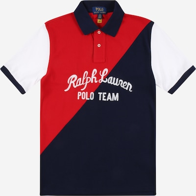 POLO RALPH LAUREN Shirt in de kleur Navy / Rood / Wit, Productweergave