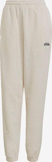 ADIDAS ORIGINALS Hose in schwarz / weiß / wollweiß, Produktansicht