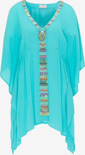 IZIA Tunique en turquoise, Vue avec produit