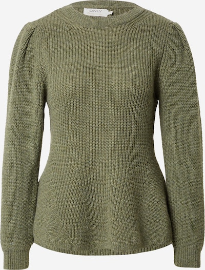 ONLY Pullover 'STACY' in khaki, Produktansicht