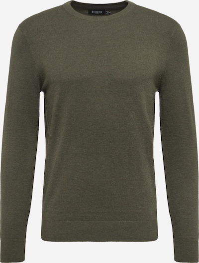 BURTON MENSWEAR LONDON Pullover 'WINTER MOSS' in oliv, Produktansicht
