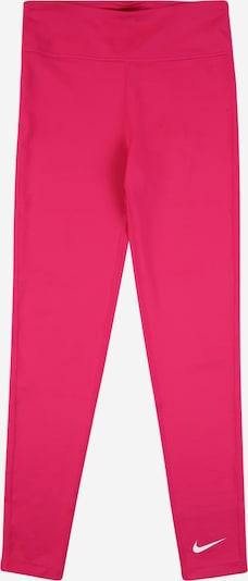 NIKE Sports trousers in Fuchsia / White, Item view