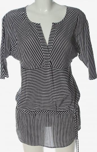 Cortefiel Long-Bluse in S in schwarz / weiß, Produktansicht