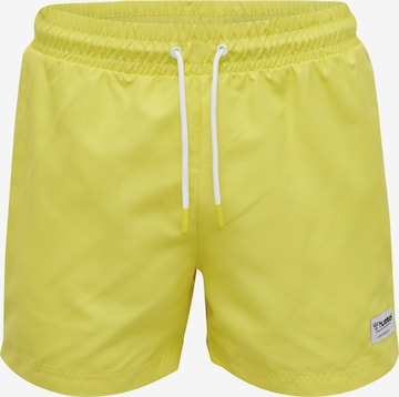 Boardshorts Hummel en jaune