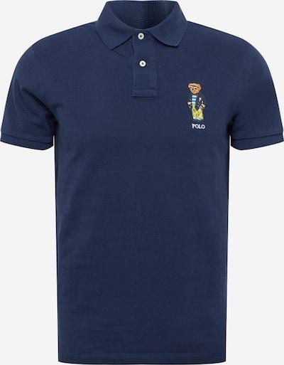 POLO RALPH LAUREN T-Shirt en bleu marine / bleu roi / noisette / jaune, Vue avec produit