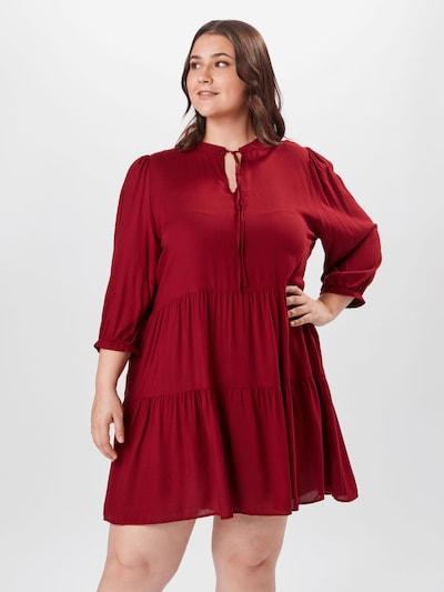 ONLY Carmakoma Kleid in rot, Modelansicht