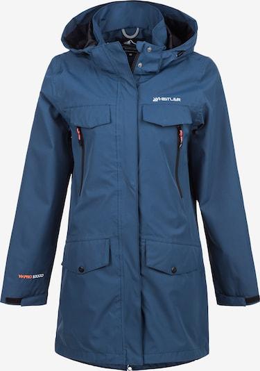Whistler Parka 'ARIANNA' in blau, Produktansicht