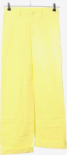 European Culture High-Waist Hose in M in pastellgelb, Produktansicht