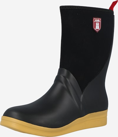 Derbe Rubber boot 'Shietwedderbotten Neo' in Red / Black, Item view