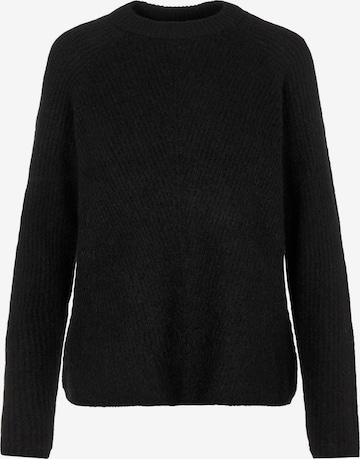 Y.A.S Pullover 'Alva' in Schwarz