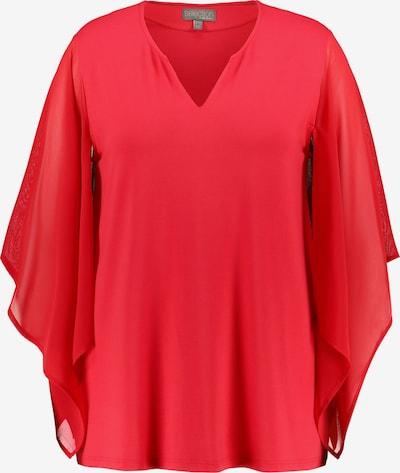 Ulla Popken Shirt in rot, Produktansicht