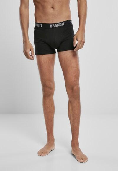 Brandit Trunks in khaki / schwarz, Modelansicht