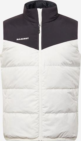 Gilet sportivo 'Whitehorn' di MAMMUT in bianco