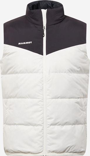 MAMMUT Sports Vest 'Whitehorn' in Black / White, Item view
