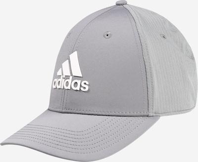 adidas Golf Sportcap in grau / weiß, Produktansicht