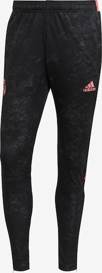 ADIDAS PERFORMANCE Pantalon de sport 'Real Madrid Human Race' en corail / noir, Vue avec produit