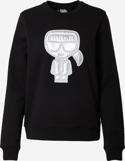 Felpa Karl Lagerfeld di colore nero / bianco, Visualizzazione prodotti